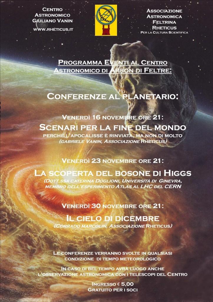 Locandina Novembre 2012