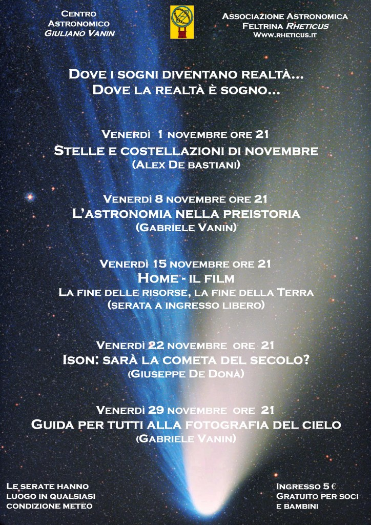 Locandina di Novembre 2013