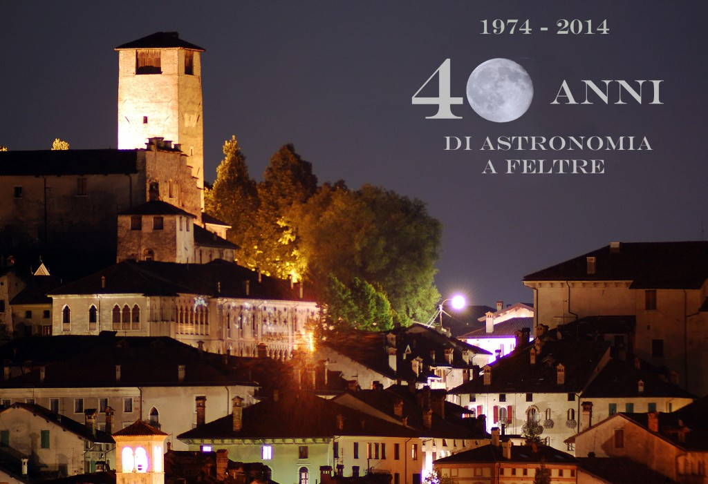 40 anni di astronomia a feltre